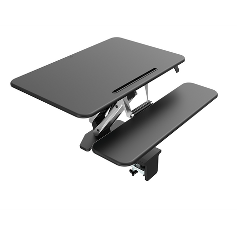 Image of Arise Compulator Height Adjustable Standing Desk Converter Riser + Anti Fatigue Mat - Buy Online Now At Active Offices