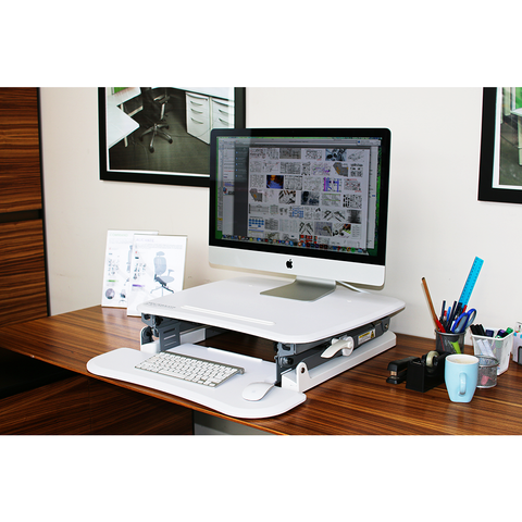 Image of Arise Deskalator Height Adjustable Desktop Work Station - Buy Online Now At Active Offices