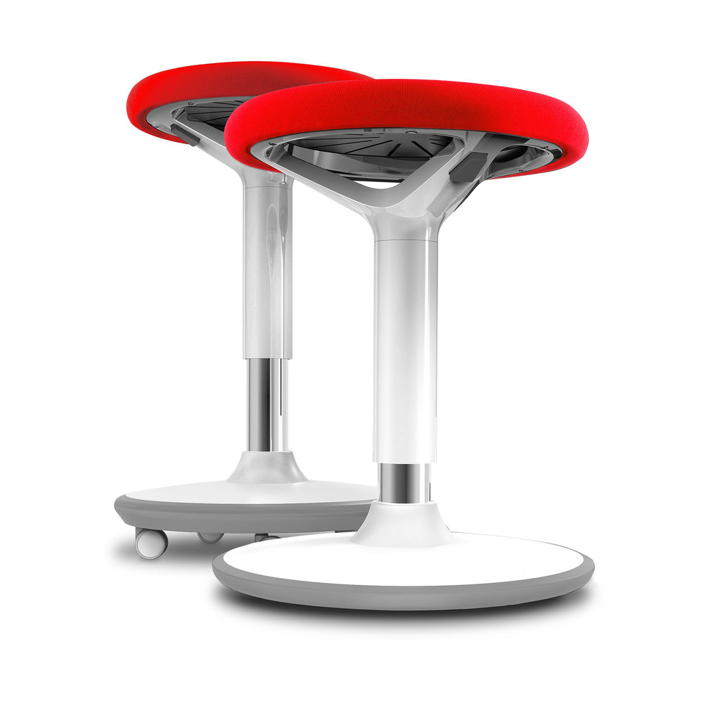 Fangle Swivel Mobile Height Adjustable Active Stool - Buy Online Now At Active Offices