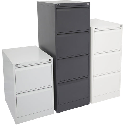 Image of Heavy Duty Go Steel Filing Cabinet Drawers - Buy Online Now At Active Offices