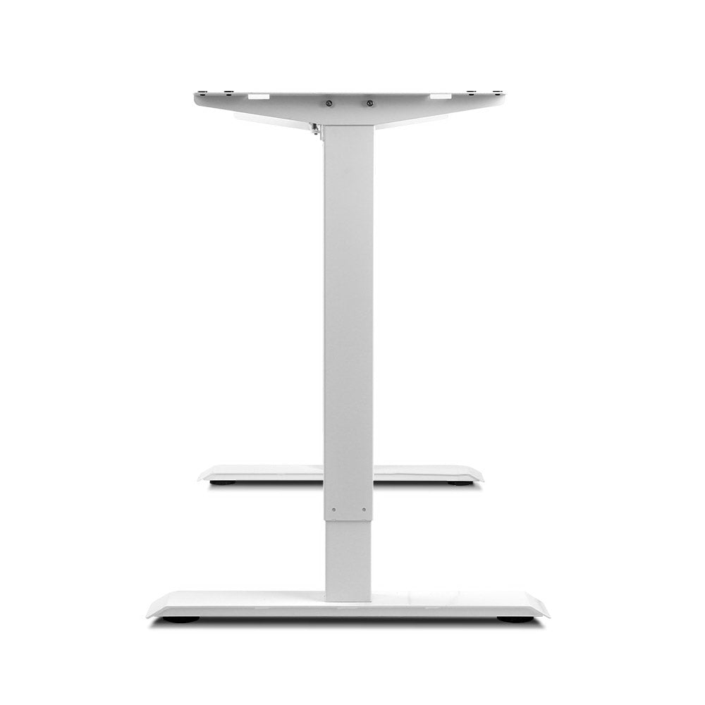 Motorised Adjustable Desk Frame White - Buy Online Now At Active Offices