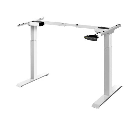 Image of Electric Motorised Automatic High Adjustable Standing Desk Frame