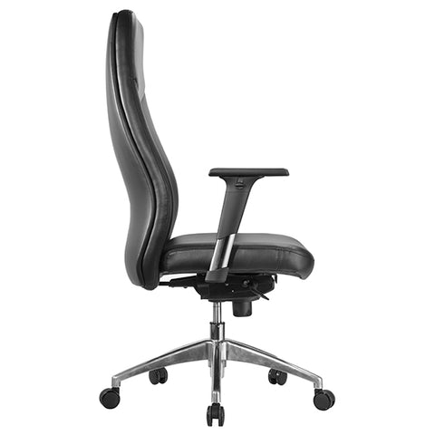 Image of Ergonomic PU Leather Hume Executive Office Chair - Buy Online Now At Active Offices