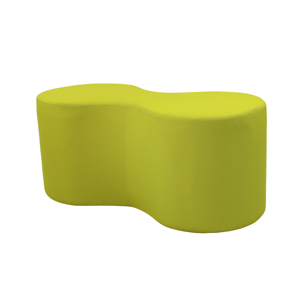 Lava Shaped Lounge Ottomans - Buy Online Now At Active Offices