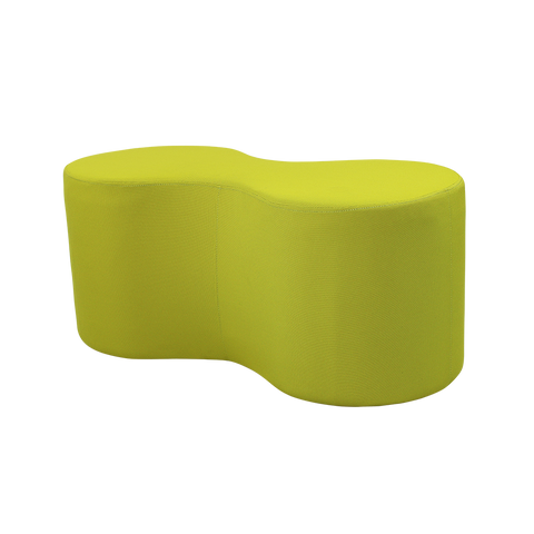 Image of Lava Shaped Lounge Ottomans - Buy Online Now At Active Offices