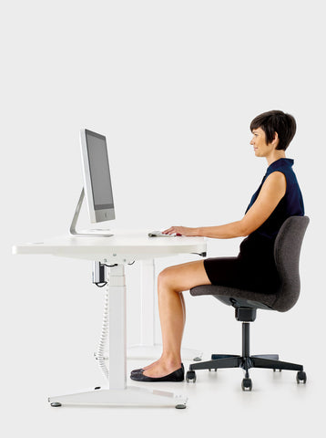 Image of Aerosmart Pro Height Adjustable Standing Desk Aus Made.