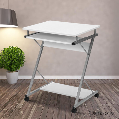 Image of Portable Metal Laptop Trolley Desk - Buy Online Now At Active Offices