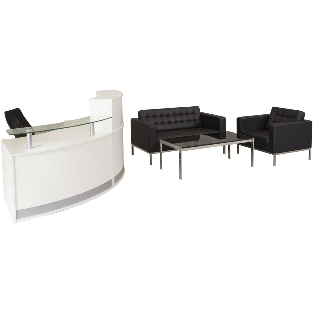 Venus 3 Seater Reception Lounge - Buy Online Now At Active Offices