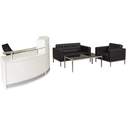 Image of Venus 3 Seater Reception Lounge - Buy Online Now At Active Offices