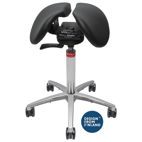 Image of Ergonomic Salli Sway Saddle Chair Stool - Buy Online Now At Active Offices