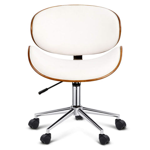 Image of Walnut Modern Executive Office Desk Chair - Buy Online Now At Active Offices
