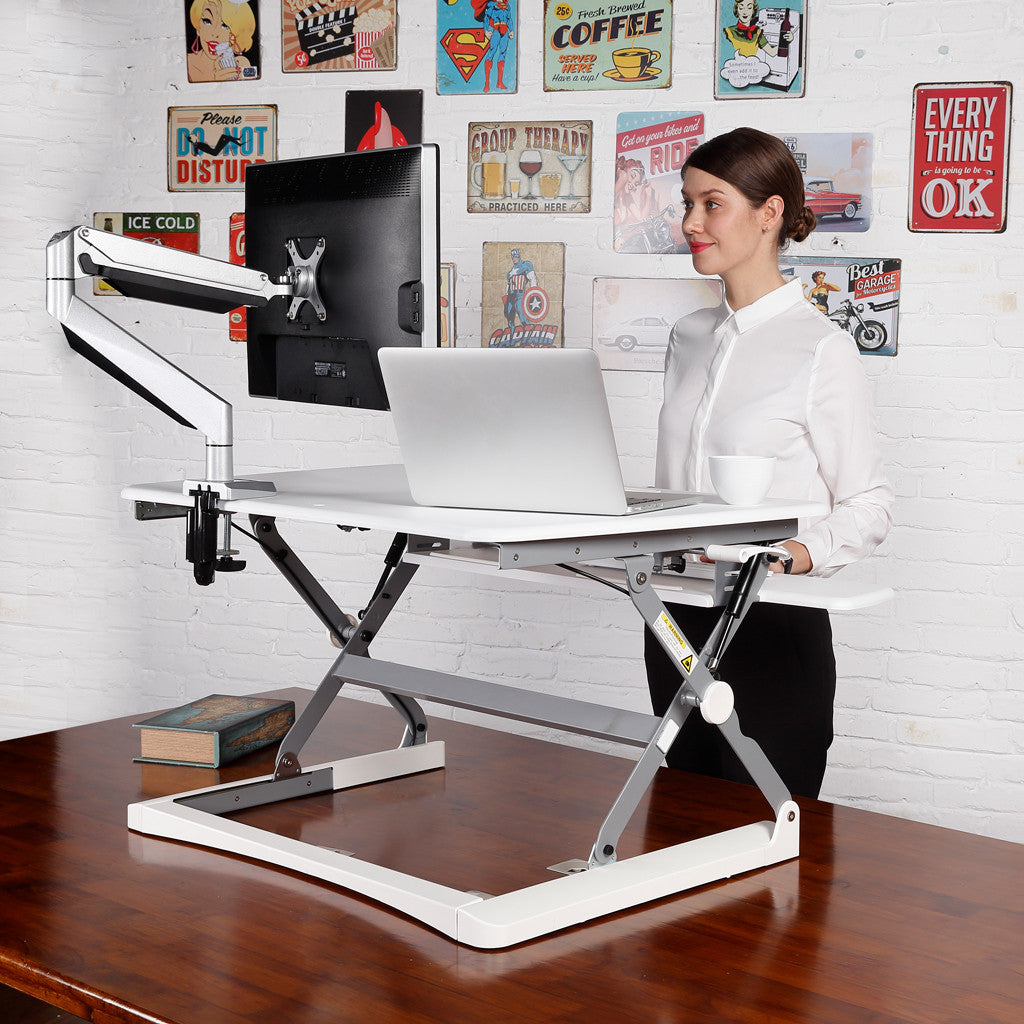 Rapid Riser Adjustable Standing Desk Workstation - Buy Online Now At Active Offices