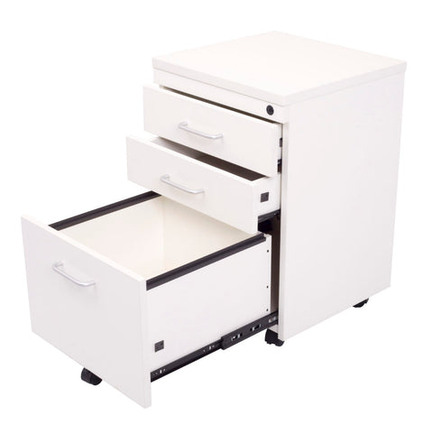 Image of Rapidline Mobile 2 Drawer & 1 File Drawer Pedestal - Buy Online Now At Active Offices