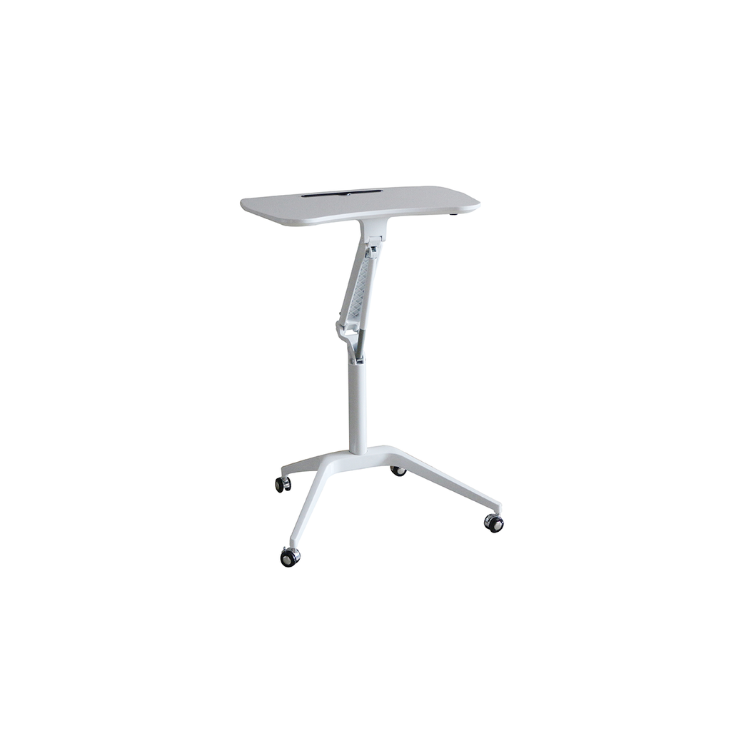 Height Adjustable Portable Laptop Trolley Desk - Buy Online Now At Active Offices