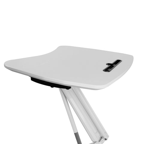 Image of Height Adjustable Portable Laptop Trolley Desk - Buy Online Now At Active Offices