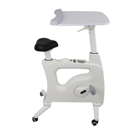 Image of Fitness Office Spin Desk Bike with Laptop Tray - Buy Online Now At Active Offices
