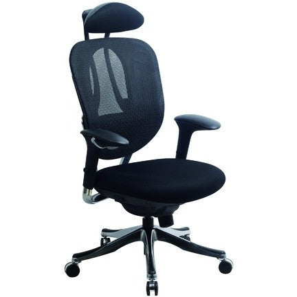 Image of Alicante High Back Ergonomic Chair With Head Rest. - Buy Online Now At Active Offices