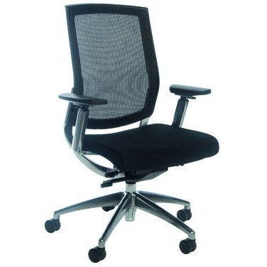 Image of Brooklyn Ergonomic Mid-Back Mesh Chair - Buy Online Now At Active Offices