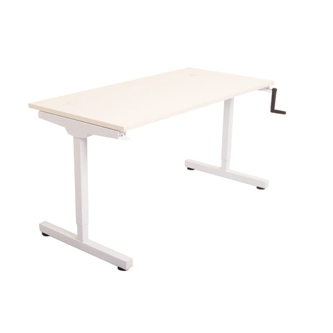 Image of Triumph Manual Height Adjustable Standing Desk - Buy Online Now At Active Offices