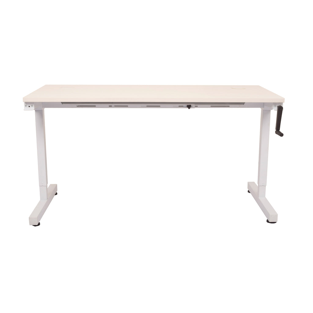 Triumph Manual Height Adjustable Standing Desk - Buy Online Now At Active Offices