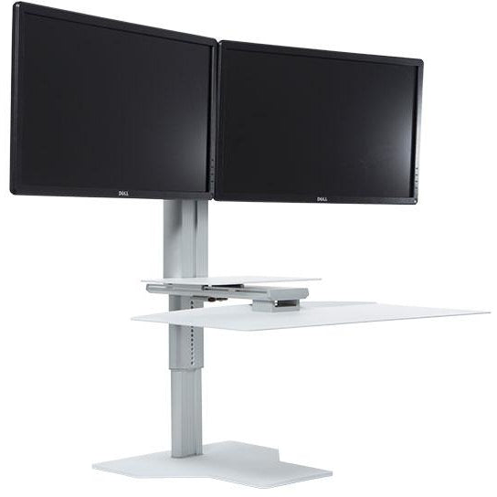 Uprite Dual Monitor Standing Desktop Workstation - Buy Online Now At Active Offices