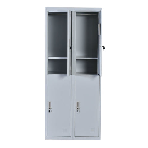 Four-Door Office Gym Shed Storage Locker - Buy Online Now At Active Offices