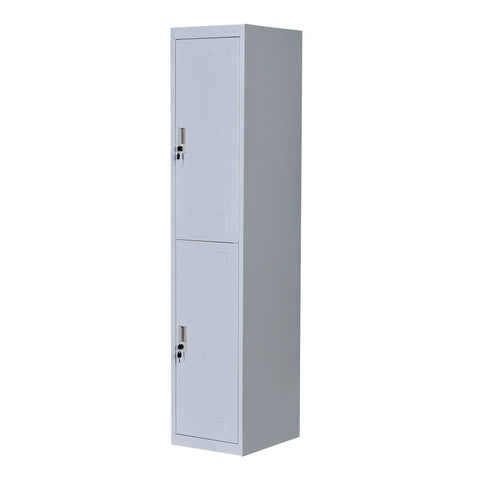Image of Two-Door Office Gym Shed Storage Lockers - Buy Online Now At Active Offices