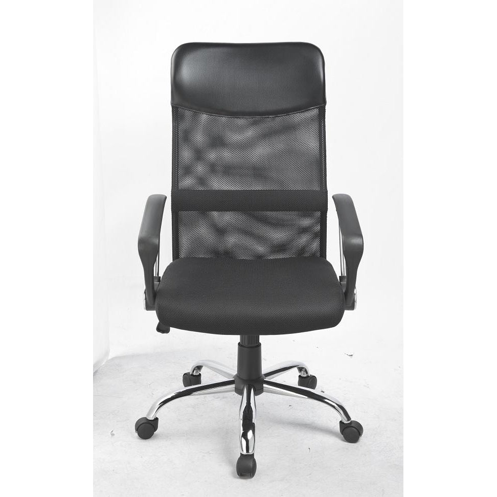 Ergonomic Mesh PU Leather Office Chair - Buy Online Now At Active Offices