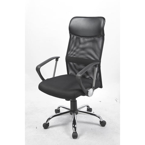 Image of Ergonomic Mesh PU Leather Office Chair - Buy Online Now At Active Offices