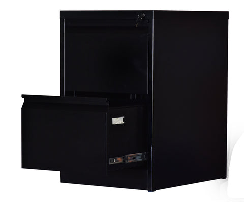 Image of 2-Drawer Shelf Office Gym Filing Storage Locker Cabinet - Buy Online Now At Active Offices