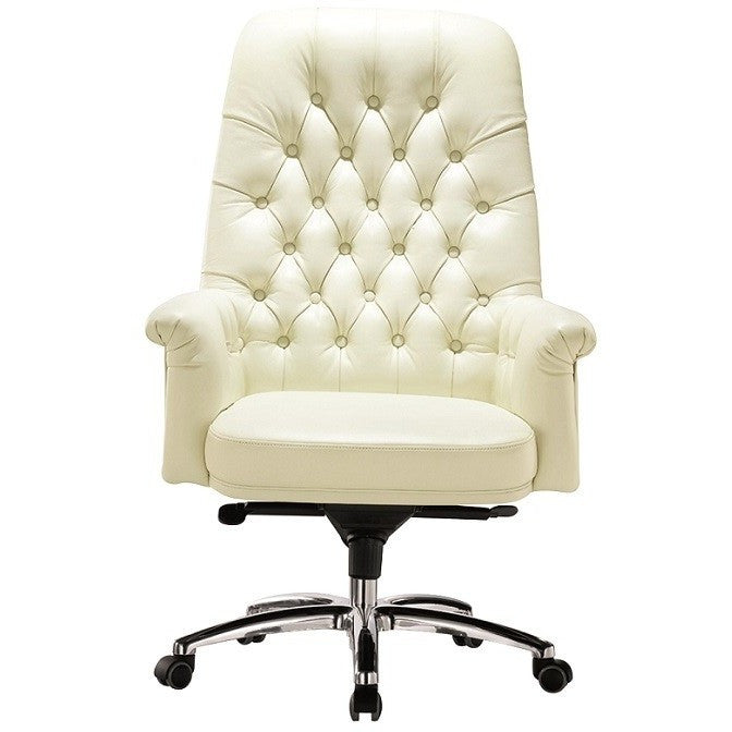 Remarkable Classy Retro Vintage High Back Button Office Chair Home Remodeling Inspirations Genioncuboardxyz