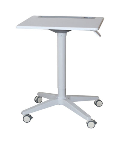 Oslo Portable Laptop Mobile Height Adjustable Standing Desk - Buy Online Now At Active Offices