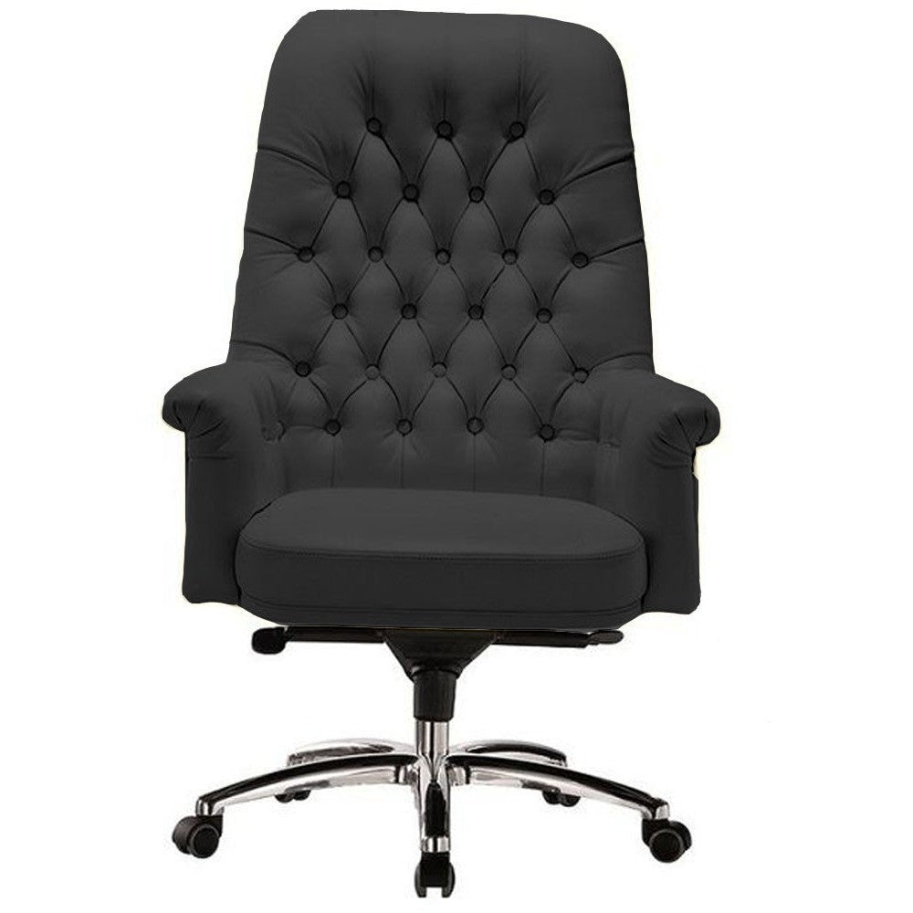 Classy Retro Vintage Mid Back Button Office Chair - Buy Online Now At Active Offices