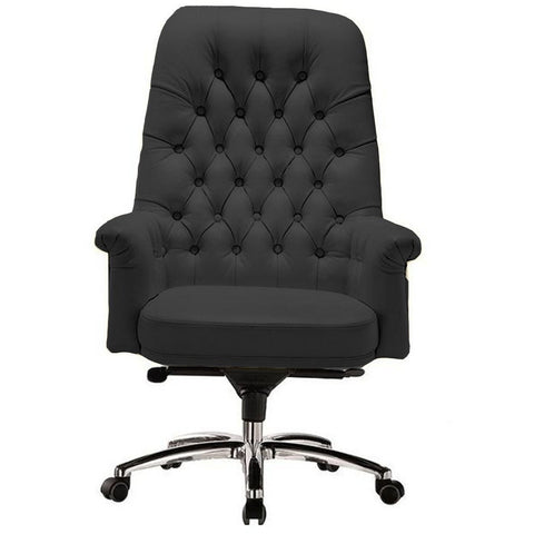 Image of Classy Retro Vintage Mid Back Button Office Chair - Buy Online Now At Active Offices