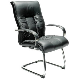 Big Boy Executive Leather Visitor Chair. - Buy Online Now At Active Offices
