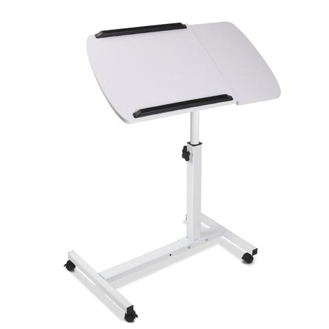 Image of Portable Height Adjustable Standing Laptop Computer Stand Trolley - Buy Online Now At Active Offices