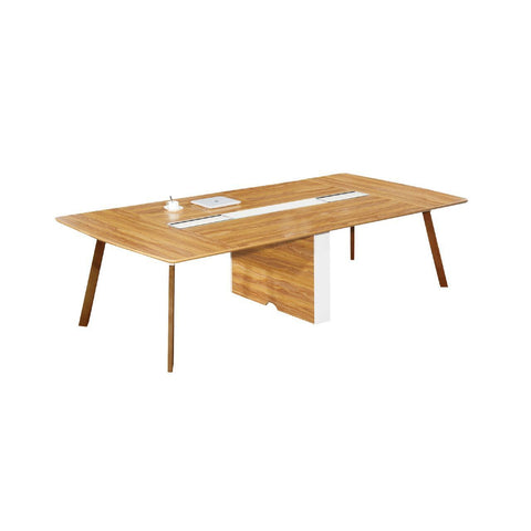 Arbor American Walnut Boardroom Table with Solid Timber Legs - Buy Online Now At Active Offices
