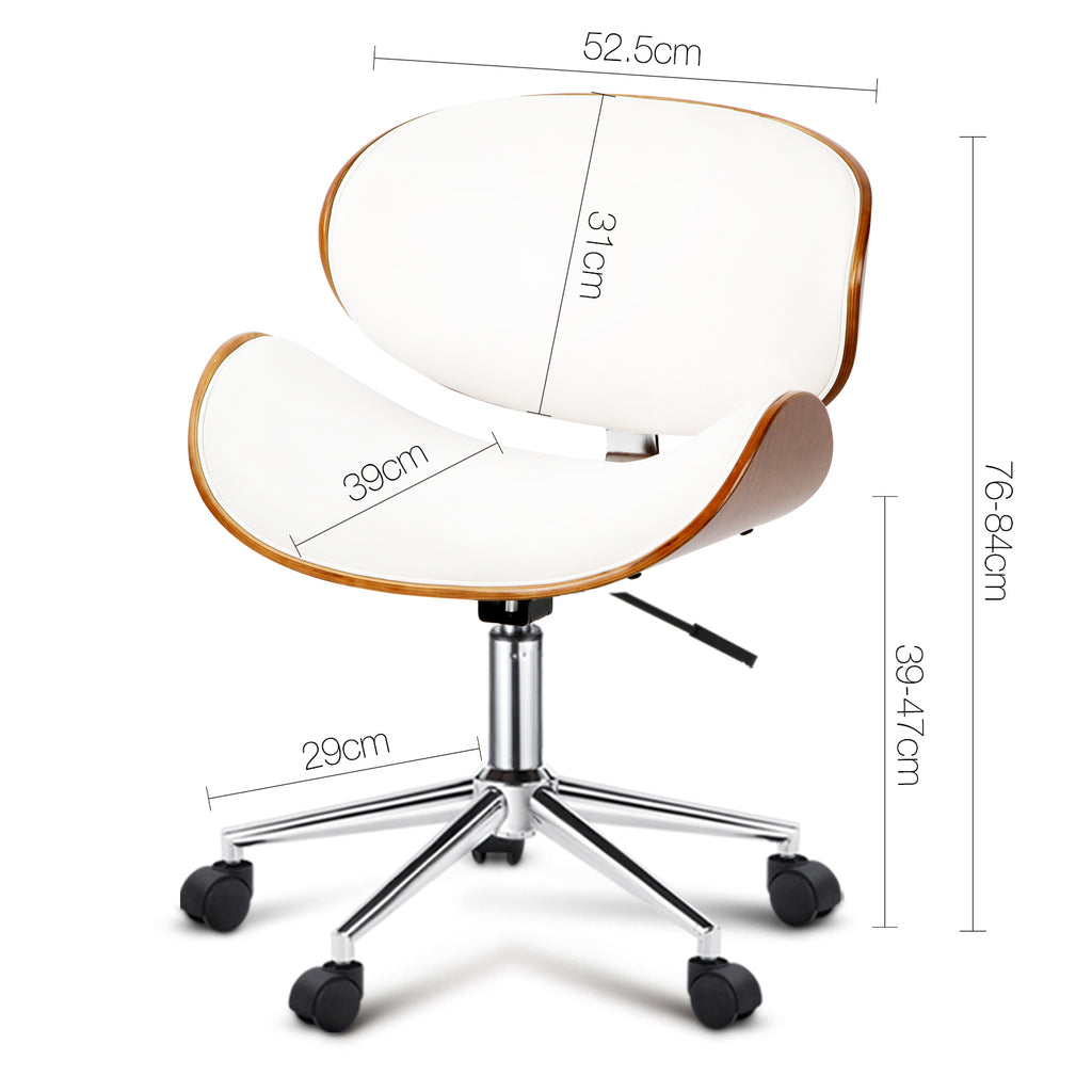 Walnut Modern Executive Office Desk Chair - Buy Online Now At Active Offices