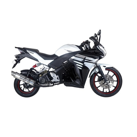 "Taotao Racer 50cc  Motorcycle with 17""/12"" Tires - ATV SCOOTER STORE, INC"