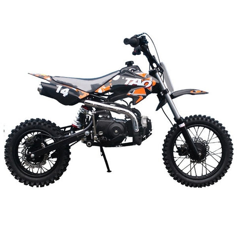 TAOTAO DB14 with Semi-Automatic Transmission 110cc Dirt Bike Orange