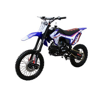 Coolster M-125 125cc Dirt Bike with Manual Clutch Mid Size Kick Start