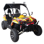 Trailmaster UTV150X Challenger Luxury Side by Side 150cc Youth & Adult UTV Yellow