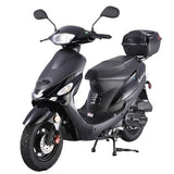 "TAOTAO ATM50A-1 50cc Moped Gas Scooter with 10"" Wheels, Electrical/Kick Start, Rear Trunk"