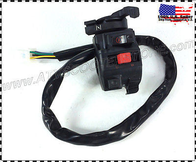 CONTROL SWITCH 125CC 150CC ATV, TAOTAO, COOLSTER, PEACE (SKU#:03J0303-F543) - ATV SCOOTER STORE, INC