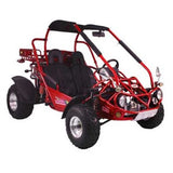 Trailmaster 300XRX With Automatic Transmission w/Reverse 300cc GoKart Red