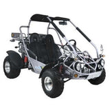 Trailmaster 300XRX With Automatic Transmission w/Reverse 300cc GoKart Silver