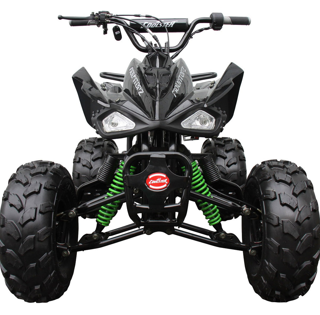 Coolster 3125C-2 with Semi Automatic transmission w/Reverse 125CC mid-size  ATV & Remote Control