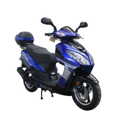 "Taotao Titan 50/Evo50 50cc Moped Scooter! 12"" Wheels-Only Black/Grey In Stock - ATV SCOOTER STORE, INC"