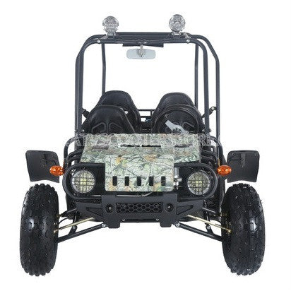 TaoTao 4-Fun 4-Seater 150cc Go Kart Tree Camo