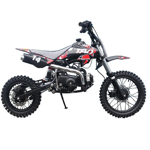 "TAOTAO DB14 with Semi-Automatic Transmission 110cc Dirt Bike. Kick Start! 14""/12"" Tires - ATV SCOOTER STORE, INC"